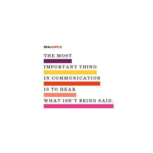 The Most Important Thing In Communication